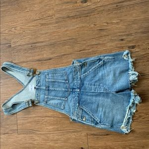 Joe's by Taylor Hill overalls jean shorts
